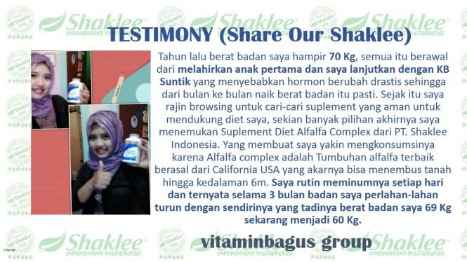 testimony shaklee