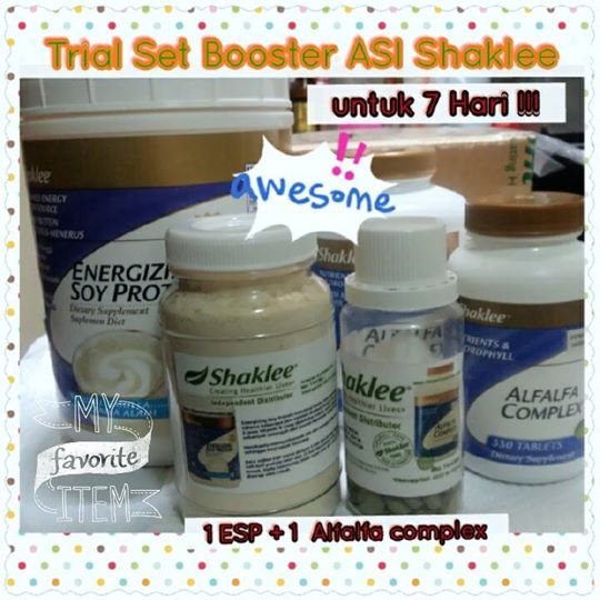 BOOSTER ASI TRIAL SET 7DAYS!